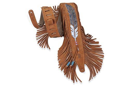 Levy's MS17AIF-004 Correas Para Guitarras 2.5' Luxurious Handbrushed Suede Top - 004
