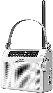 Sangean PR-D6 Compact Portable AM/FM Radio with AUST SANGEAN Warranty