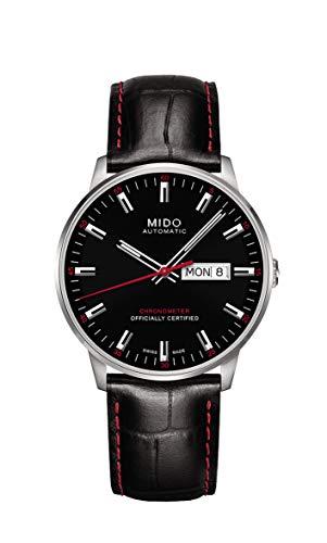 Mido Herren Analog Automatik Uhr mit Leder Armband M0214311605100