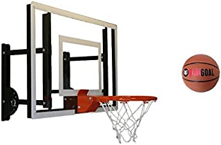 RAMgoal Durable Adjustable Indoor Mini Basketball Hoop and Ball