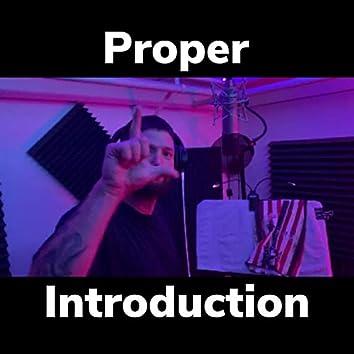 Proper Introduction