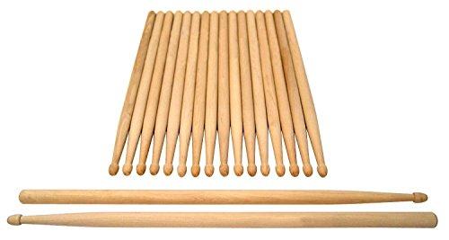 XDrum baquetas Classic 7A madera pack de 10x