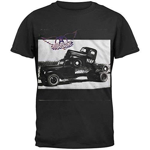 FEA Men's Aerosmith Pump T-Shirt, Black, Small