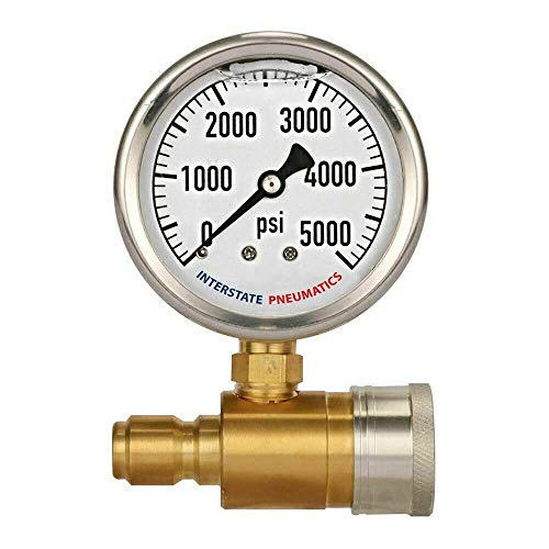 Snap On Quick Connect Pressure Washer Pressure Gauge