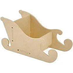 fabriquer le tra neau du p re no l. Black Bedroom Furniture Sets. Home Design Ideas