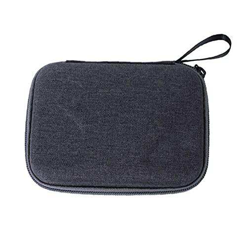FeelMeet Mini Estuche Pulgar cámara Bolsa de Almacenamiento Caja de la cámara Go 2 Multi usos portátil Compatible con Insta360 Go 2 Accesorios de la cámara Negro