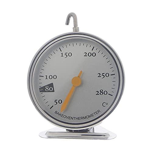Termómetro de horno universal de acero inoxidable portátil de cocina de alimentos para hornear Monitoreo de temperatura