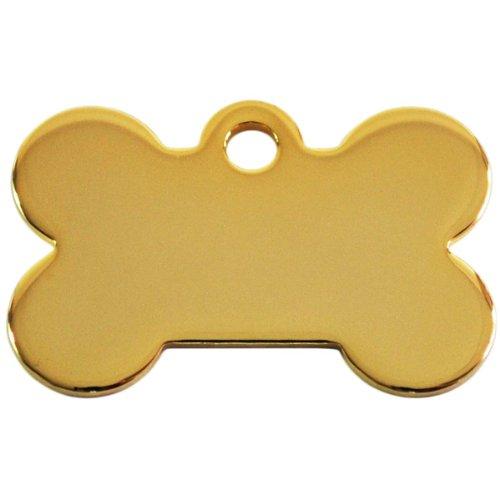 Trixie - Placas Identificativas Hueso. Oro Plata -