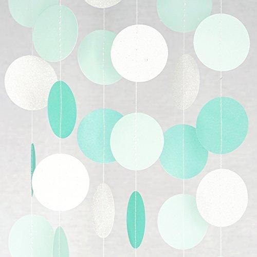 Chloe Elizabeth Paper Dot Circle Garlands for Parties (3 Meters) Samsung Galaxy S8 Transparent Gel Cover D0540