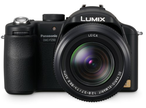 Panasonic Lumix DMC-FZ50 Digitalkamera (10 Megapixel, 12-fach opt. Zoom, 2