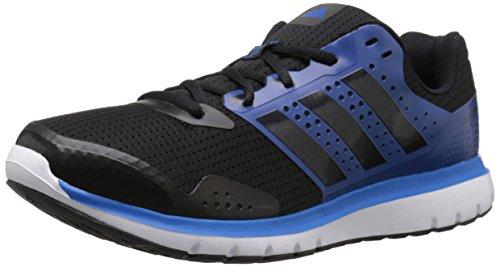 adidas Performance Herren Duramo 7 M Laufschuh, (Black/Equipment Blue/Black), 43 EU