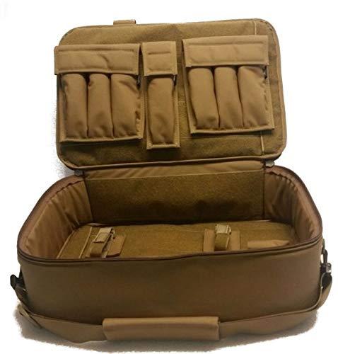 WRB 19.5″ Discreet Sub Gun Case w/Folder (Coyote, Mag Pouch-32rd 9mm/.40/.45)