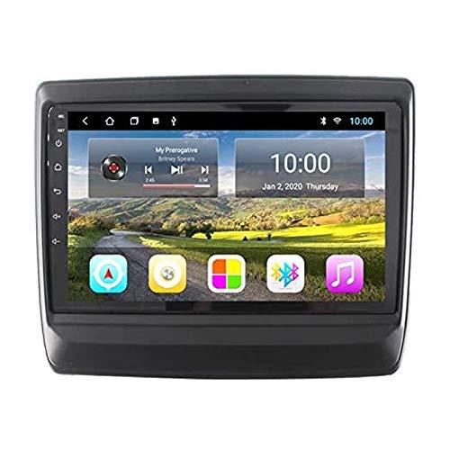 Android 9.0 Coche STEREO PARA ISUZU D-MAX DMAX 2020 9 pulgadas HD Pantalla táctil HD Navegación de la navegación Player Receptor con enlace de espejo FM AM Turing Wheel Control,4 core 4g+wifi: 1+32gb
