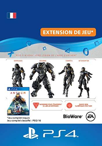Mise à niveau d'Anthem Édition Légion de l'Aube - Code Jeu PS4 - Compte français