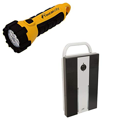 Toucan City LED Flashlight and SPT Mini Thermo-Electric Dehumidifier SD-350