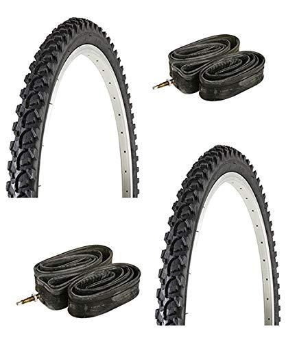 CHAOYANG - 2 neumáticos para Bicicleta de montaña, 24 x 1,95 cm
