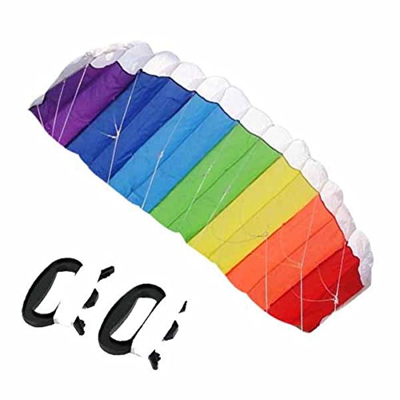 ~ Nylon Line Soft Plus Material Parachute Rainbow Sports Beach Kite Fun Kids Park Beach Large Color Animal Unique Wind Fly Child Gift