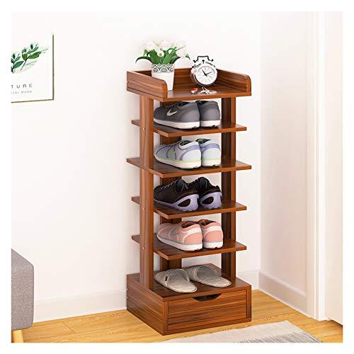 Organizador para Zapatos Multi-capa de zapatero zapatero Inicio multi-función de la casa for guardar la entrada en rack autoportante zapatero Ahorro de espacio zapatero simple con cajón Mueble para Za