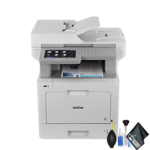 Brother MFC-L9570CDW Color Laser All-in-One Printer (MFC-L9570CDW) Essential Bundle
