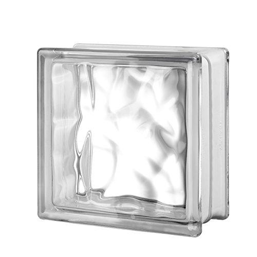 Quality Glass Block 8 x 8 x 4 Nubio Glass Block