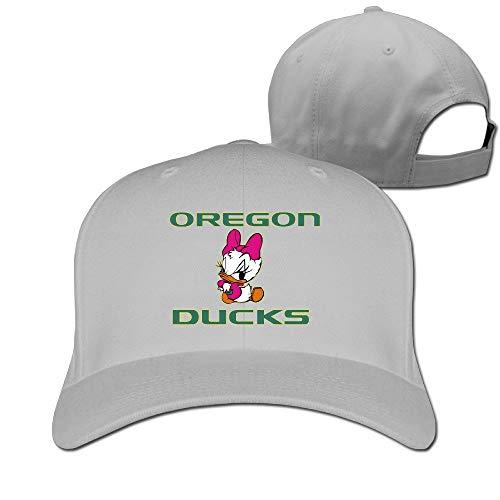 Oregon Ducks Unisex Fashion Adjustable Pure 100% Cotton Peaked Cap Sports Washed Baseball Hunting Cap Casquette Black