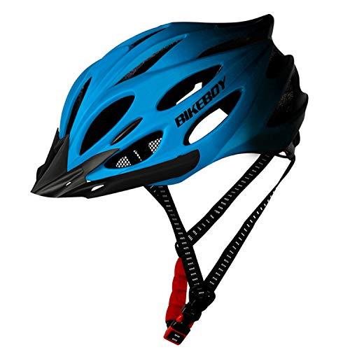 BWBIKE Adult Men-Women Bicycle Helmet LED Lightweight Breathable Men Mountain Bike Helmet City Road Bike Helmets