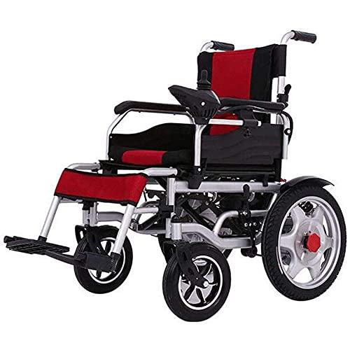 WXDP Autopropulsado Scooter de Cuatro Ruedas eléctrico obeso Grande Plegable eléctrico, Inteligente, de Mediana Edad y Ancianos