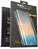 Magglass Galaxy Note 10 Tempered Glass Screen Protector w/Fingerprint Display Compatibility - Anti Bubble UHD Clear Full Coverage Resistant Screen Guard for Samsung Note 10 (Case Friendly)