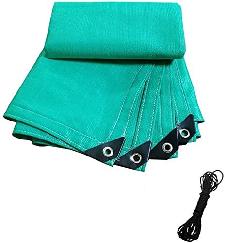 TUOL1AO Sombra de Vela Rectangular/Sombra Sombra de Sol/Bloque 90% UV/tamaño Completo, Verde, para PERGOLA Piscina Toldo Comercial OUTEAR (Color : Green, Size : 3X4)