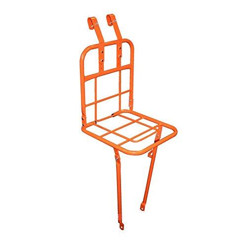 Gepäckträger Fahrrad Hollandrad Vorne Träger Orange Omafiets Lenkermontage