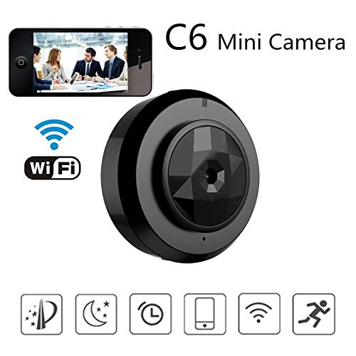 Best Deals! RMXMY Spy Camera 1080P WiFi, Wireless HD Hidden Camera Clock with Night Vision/Motion De...