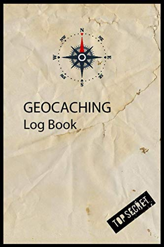 Geocaching Log Book: Geocacher Journal |120 Pages | 6x9 in | Soft Matte Cover