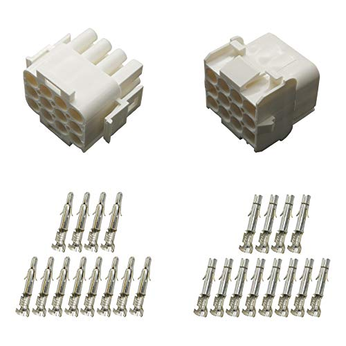 Stecker Set Steckverbinder Universal Mate N Lok 12-polig incl. Kontakten