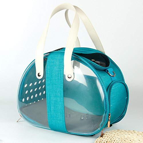 Cat Carrier Bag foldable Transparent Travel Convenient Capsule Handbag for Puppy Pet Foldable Supplies Pet Bubble Backpack