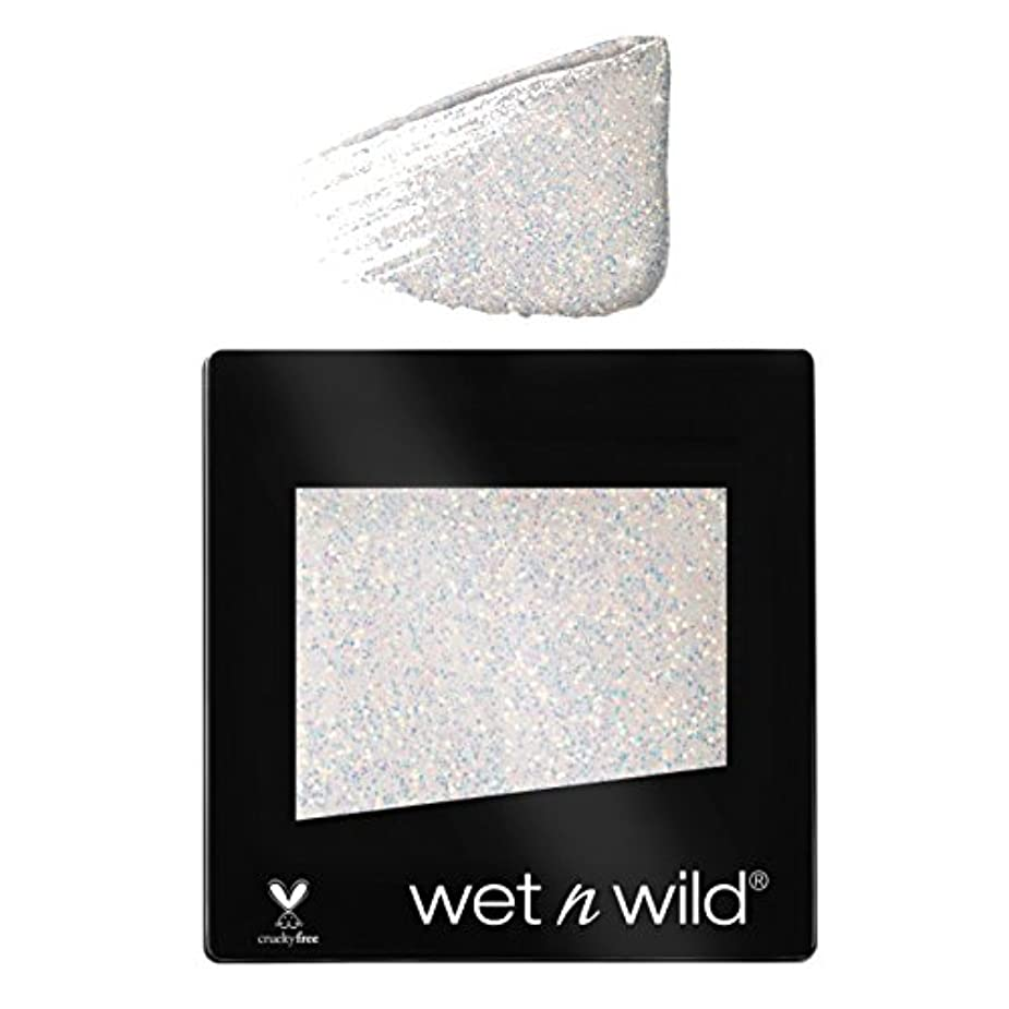 誤解する苦しむ代表団(3 Pack) WET N WILD Color Icon Glitter Single - Bleached (NEW) (並行輸入品)