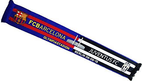 FC Barcelona sjaal Finale van de Champions 2015 Juventus Turin – officiële collectie