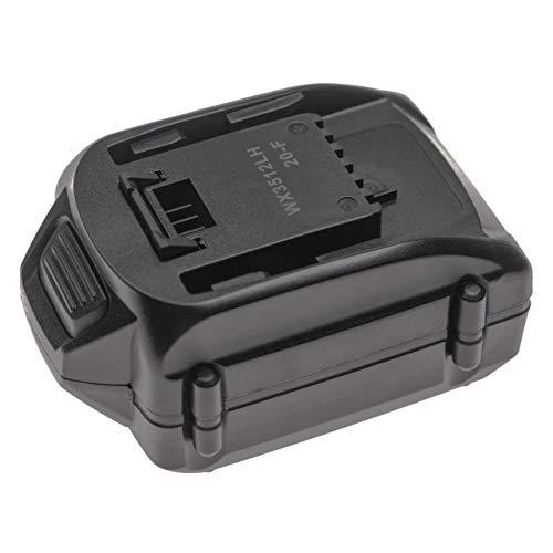 vhbw Batería recargable compatible con Worx WX175.1, WX175.9, WX176, WX176.3, WX176.9, WX178, WX178.1, WX178.9 (4000mAh Li-Ion 18V)