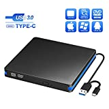 BlueFire External CD/DVD Drive USB 3.0 Portable DVD/CD-RW Drive Reader High Speed Data