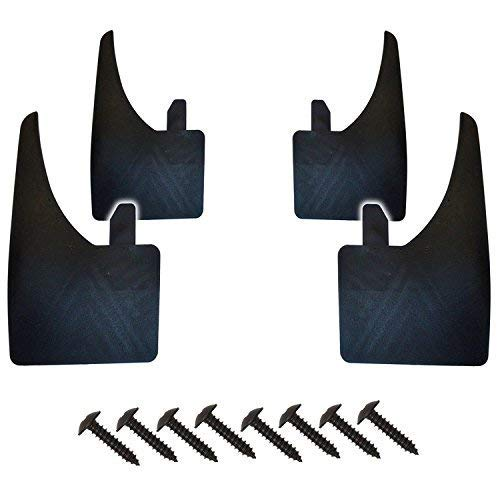 Noir Rallye Bavettes splash guards Fits Vauxhall Mokka 2013on