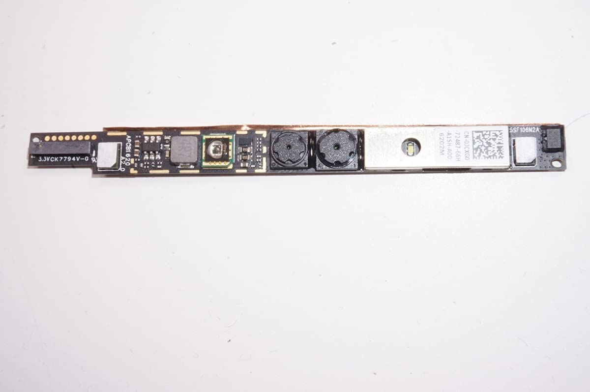 FMB-I Compatible with JCXG0 Replacement for Dell Webcam AW17R4-7000SLV-PUS I5378-7171GRY Inspiron 13 7368 2-in-1