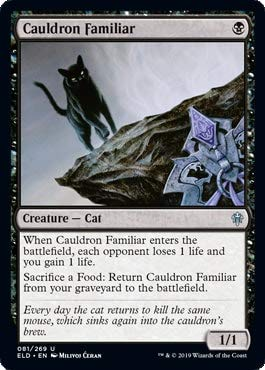 Magic: The Gathering - Cauldron Familiar - Throne of Eldraine