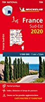 Southeastern France - Michelin National Map 709 (Michelin National Maps)