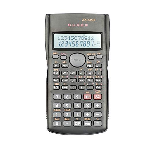 YEBMoo Calculatrice Scientifique 2 Lignes Multifonction pour comptables, étudiants, ingénieurs Calculatrice scientifique.
