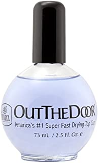 INM Out the Door Top Coat Nail Polish, 2.3 Ounce
