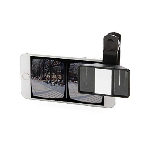 Universele 3D-mini-lens, mobiele telefoon, foto, stereo, lens Mallalah voor iPhone Samsung Android Tablet