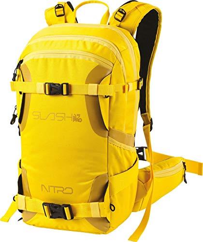Nitro Snowboards Slash 25 Pro Snowboardrucksack, Tourenrucksack , 25 L, Cyber Yellow