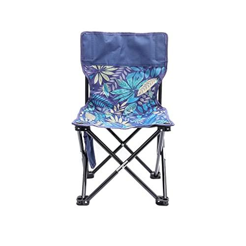 SJYDQ Campo portátil Plegable Silla de Camping al Aire Libre de heces for Pesca Senderismo jardinería y Playa