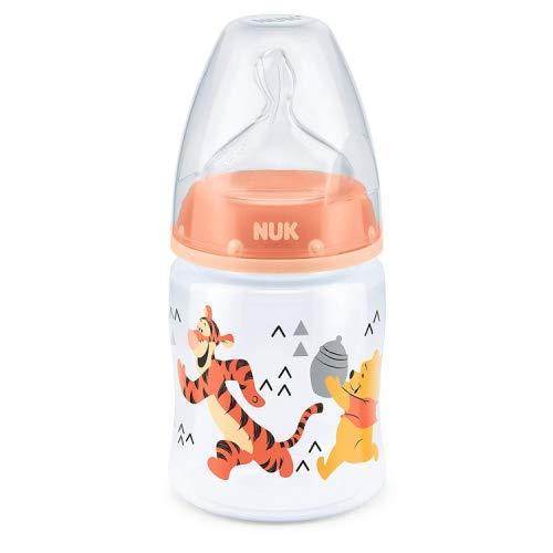 Primero Elección + de Nuk Bebé Disney 150ml Alimentación Botella 0-6m Winnie The Pooh