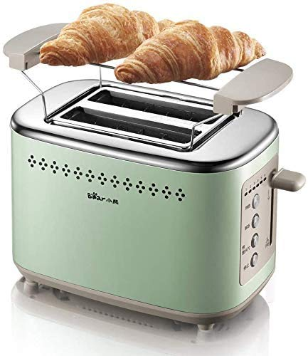 Broodmachine Broodrooster Huis 2 Slices ontbijt Toast Oven Soil Driver Automatische Toast 8bayfa