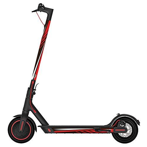 STYLISH SCOOTERS Pegatinas Xiaomi M365, Sport Red Vinilo Decorativo para tu Patinete Eléctrico, Valido para Todos los Modelos. (Rojo)